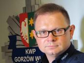 Trzy pytania do podkomisarza Sławomira Koniecznego, rzecznika prasowego Komendanta Wojewódzkiego  Policji w Gorzowie