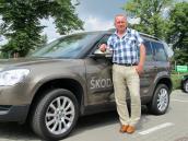 Trzy pytania do Tadeusza Sienkiewicza, prezesa firmy Auto-Bis, dilera Skody w Gorzowie