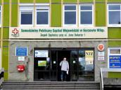 Gorzowski szpital widziany z Warszawy