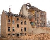 Rozbiórka budynków przy Wale Okrężnym