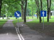 Niepotrzebne miasteczko ruchu drogowego