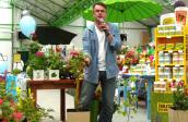 Trzy pytania do Marka Jezierskiego, dziennikarza prowadzącego telewizyjny program Ogrody Marzeń, zadane podczas spotkania w Centrum Ogrodniczym Żelazny