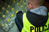300 litrów nielegalnego spirytusu w seacie