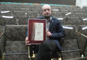 Dyplom uznania dla Roberta Piotrowskiego, czyli Wawrzyny rozdane
