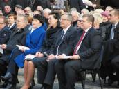 Prezydent Komorowski spotkał się z pionierami i mieszkańcami Gorzowa