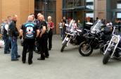 Motocykliści oddawali krew całkiem honorowo