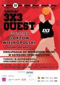 Gorzowski przystanek mistrzostw Polski w koszykówce 3x3