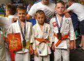 W komplecie zdobyli medale w judo