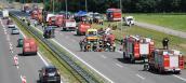 Wypadek na drodze S-3 – wspólne ćwiczenia służb