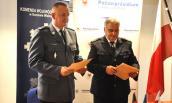 Szefowie lubuskiej i brandenburskiej policji podpisali porozumienie o współpracy