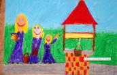 Legendy gorzowskie na rysunkach dzieci