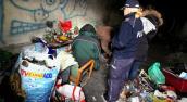 Większość bezdomnych ma jakiś dach nad głową