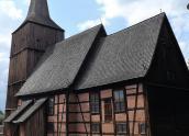 W Klępsku stoi drewniany Pomnik Historii
