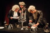 Teatr oraz muzyka Chaczaturiana, Earla Thomasa i Grechuty