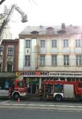 Ogień w Starym Domu Towarowym na Sikorskiego