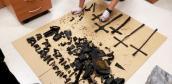 Kradli z cmentarzy metalowe element nagrobków na złom