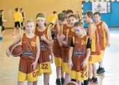 Koszykarskie talenty w akcji