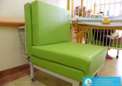 Rozkładane łóżka dla opiekunów dzieci