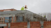 Wiecha na dachu ośrodku radioterapii