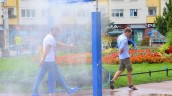 Zraszacze na miejską gorączkę letnich dni
