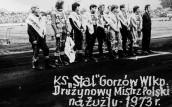 45 lat temu Stal Gorzów została mistrzem Polski…