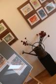 Ceramika, malarstwo i zdjęcia w galerii Na Mansardzie