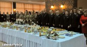Lubuskie służby mundurowe podzieliły się opłatkiem