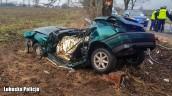 Dwie śmiertelne ofiary wypadku drogowego koło Drezdenka