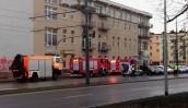 Potężna awaria gazociągu przy Warszawskiej