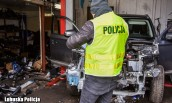 Policjanci zlikwidowali dziuplę samochodową
