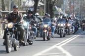 Jubileuszowy przejazd motocyklistów