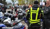 Lubuscy policjanci na otwarciu sezonu motocyklowego
