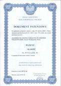 Akademia otrzymała kolejny patent