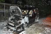 Podpalił auto i spowodował straty na 100 tys. zł