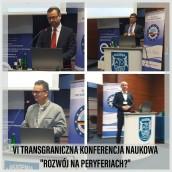 """VI Transgraniczna Konferencja Naukowa """"Rozwój na peryferiach?"""""""