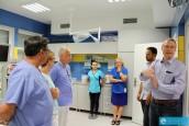 W szpitalu o współpracy z Bad Saarow