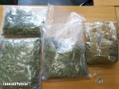 Dwa kilogramy marihuany, amfetamina, LSD….