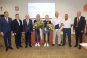 Nasze medalistki docenione przez władze miasta