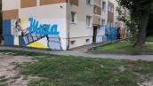 Murale z wolna zmieniają osiedle