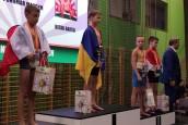 Medal przywieziony z mistrzostwa Europy w sumo