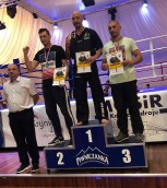 Policjant mistrzem Polski w kickboxingu