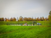 Plac zabaw dla psów w parku Górczyńskim
