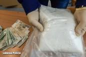 Ponad kilogram amfetaminy znaleziony w aucie