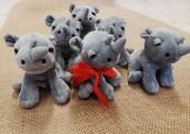 Pluszowe nosorożce - Stefanie dla maluchów