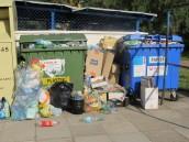 Śmieci nie będą odebrane z powodu zmieszania