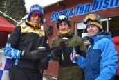 Pojeździli na nartach i sankach