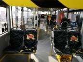 Mniej pasażerów w autobusach miejskich