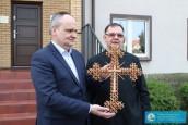 Biskup wspiera medyków modlitwą i darami