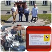 AJP i płyn do dezynfekcji dla szpitala w Gorzowie