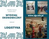 Studia na kierunku LOGISTYKA w AJP